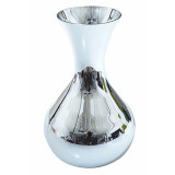 Carafe Argent Mouth-Blown Decanter