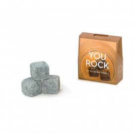 Whisky Stones Bottle Neck Mini (3 stones)