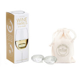 Wine Twirls Wine Chillers (Set of 4)