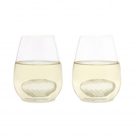 Wine for Two (2 Wine Glasses & 2 Wine Twirls)