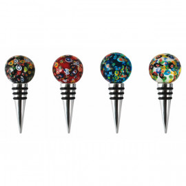 Glass Stoppers (12 pack of 3 colours)